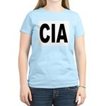 CIA Central Intelligence Agency Women's Pink T-Shi