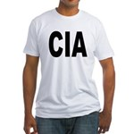 CIA Central Intelligence Agency Fitted T-Shirt