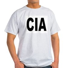 CIA Central Intelligence Agency Ash Grey T-Shirt