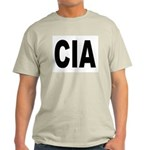 CIA Central Intelligency Agency (Front) Ash Grey T