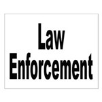 Law Enforcement Small Poster