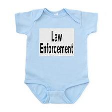 Law Enforcement Infant Creeper