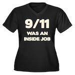 911 Was An Inside Job Women's Plus Size V-Neck Dar