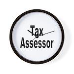 Tax Assessor Wall Clock