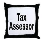 Tax Assessor Throw Pillow