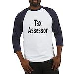 Tax Assessor (Front) Baseball Jersey