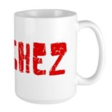 Sanchez Faded (Red) Coffee Mug