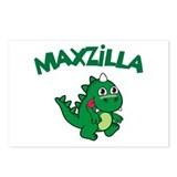 Maxzilla Postcards (Package of 8)