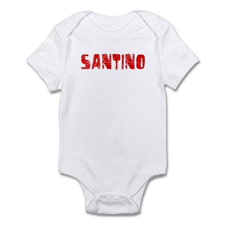 Santino Faded (Red) Infant Bodysuit