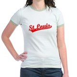 Retro St Louis (Red) T