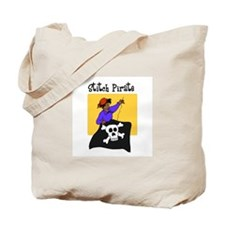 Stitch Pirate - Sewing Crafts Tote Bag