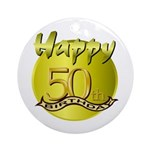 50th Birthday Keepsake (Round)