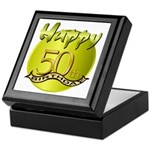 50th Birthday Keepsake Box