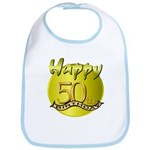 50th Birthday Bib