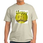 50th Birthday Ash Grey T-Shirt