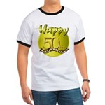 50th Birthday Ringer T