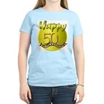 50th Birthday Women's Pink T-Shirt