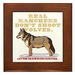 Real Ranchers Framed Tile