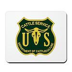 US Cattle Service Mousepad