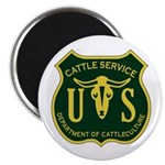 US Cattle Service Magnet