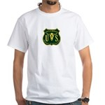 US Cattle Service White T-Shirt