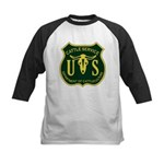 US Cattle Service Kids Baseball Jersey
