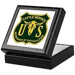 US Cattle Service Keepsake Box