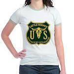 US Cattle Service Jr. Ringer T-Shirt