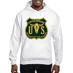 US Cattle Service Hooded Sweatshirt