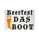 BeerFest Das Boot Rectangle Magnet