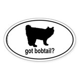 Got Bobtail? Oval Decal