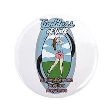 """Goddess of Golf 3.5"""" Button (100 pack)"""