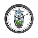 Goddess of Golf Wall Clock