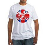 BRITISH DRAGON ANABOLICS Fitted T-Shirt