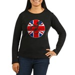 BRITISH DRAGON ANABOLICS Women's Long Sleeve Dark