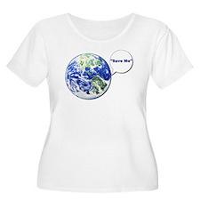 Unique Save planet T-Shirt