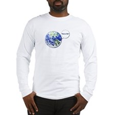 Save The World Long Sleeve T-Shirt