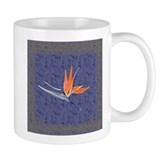 Blue Bird of Paradise Mug