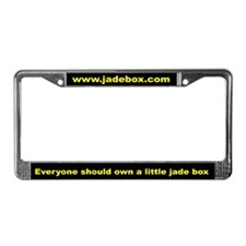 Jadebox License Plate Frame