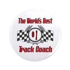 "Racing Track Coach 3.5"" Button"