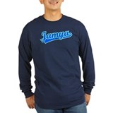 Retro Jamya (Blue) T