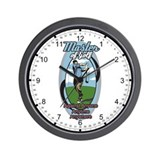 Master of Golf Wall Clock