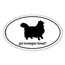 Got Norwegian? Oval Decal
