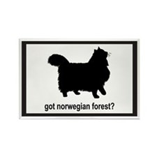 Got Norwegian? Rectangle Magnet