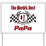 Racing PaPa Yard Sign