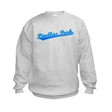Retro Pinellas Park (Blue) Sweatshirt
