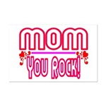 Mom You Rock Mini Poster Print