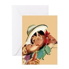 Romantic Cowboy Greeting Card
