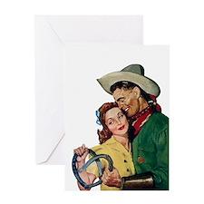 Loving Cowboy Greeting Card