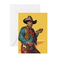 Handsome Cowboy Greeting Card